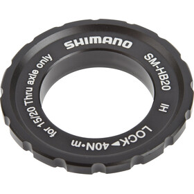 Shimano SM-HB20 Center-Lock okrąg dla osi piasty   czarny